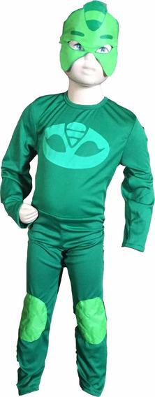 Disfraz Gecko Héroes En Pijamas Braga Y Antifaz
