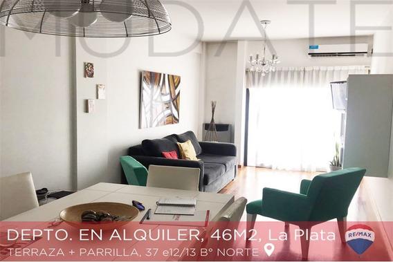 Departamento De Un Dormitorio En Alquiler La Plata