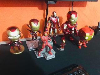 Iron Man Figuras Bandai Lego Nendoroid Qfig Jada Funko