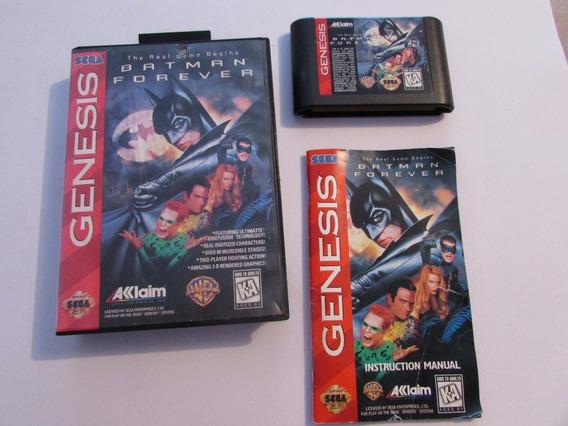 Batman Forever Original Completo Para Mega Drive