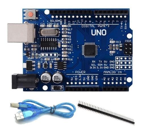 Placa Arduino Uno R3  V3 2014 Atmel 328p