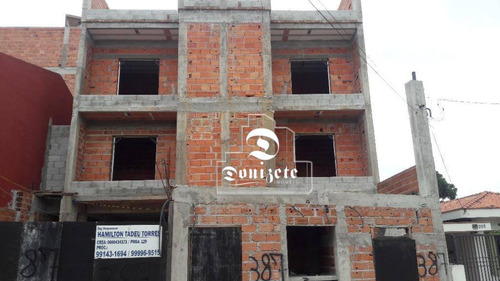 Cobertura À Venda, 130 M² Por R$ 526.000,00 - Vila Santa Teresa - Santo André/sp - Co11129