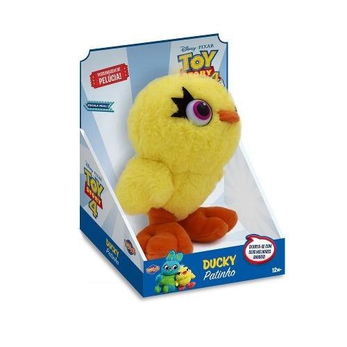 Pelúcia 17 Cm - Disney - Toy Story 4 - Ducky - Disney - Toyn