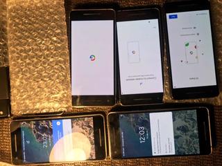 Celular Google Pixel 2 Lote De 4 Precio De Mayoreo