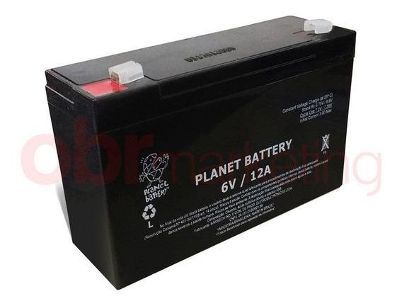 Bateria P/ Brinquedos Moto E Carrinho Eletrico 6v 12a