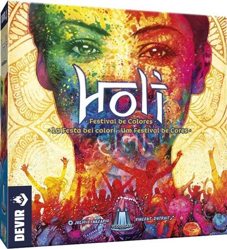 Jogo Holi Um Festival De Cores - Devir - Bonellihq D21
