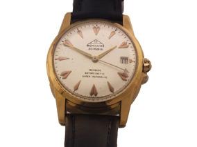 Relógio Mondaine Incabloc Calendário Ouro Amarelo 18k J10841