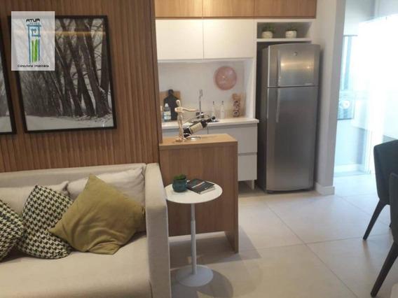 Apartamento Com 2 Dormitórios À Venda, 41 M² Por R$ 263.200,00 - Vila Nova Cachoeirinha - São Paulo/sp - Ap0764