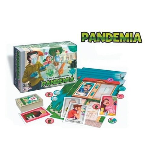 Juego De Mesa Pandemia Original Toyco