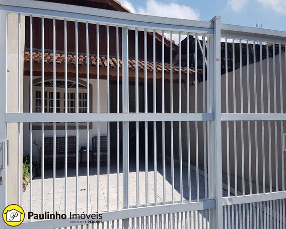 Casa Para Locação Definitiva Na Praia De Peruíbe - Ca03292 - 34454277