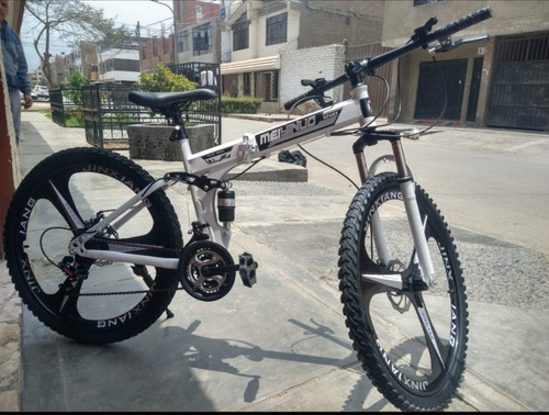 Imagen 1 de 15 de Bicicleta Plegable  - Acero Carbono, Aro 26