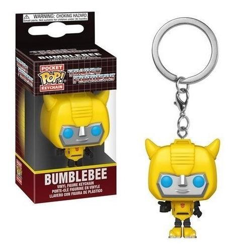 Imagen 1 de 2 de Funko Pocket Pop! Llavero: Transformers - Bumblebee