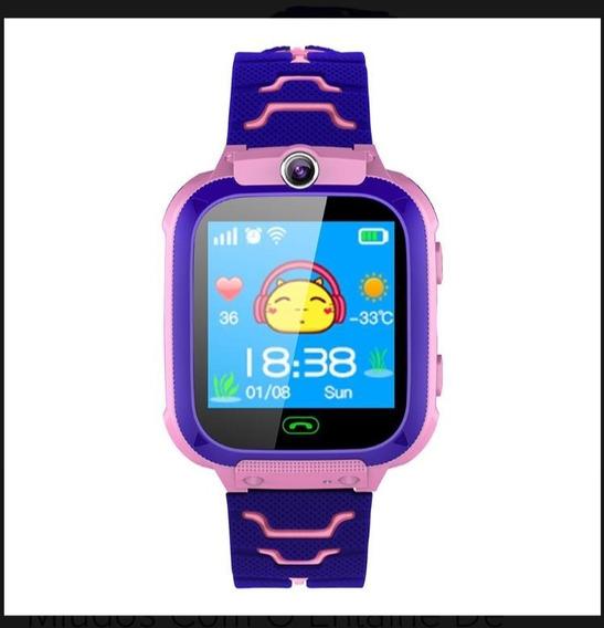 Relógio Localizador De Criança Gps Summiki