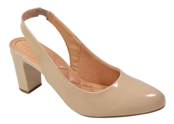 Sapato Sandalia Vizzano Salto Grosso Medio Barato Promoçao