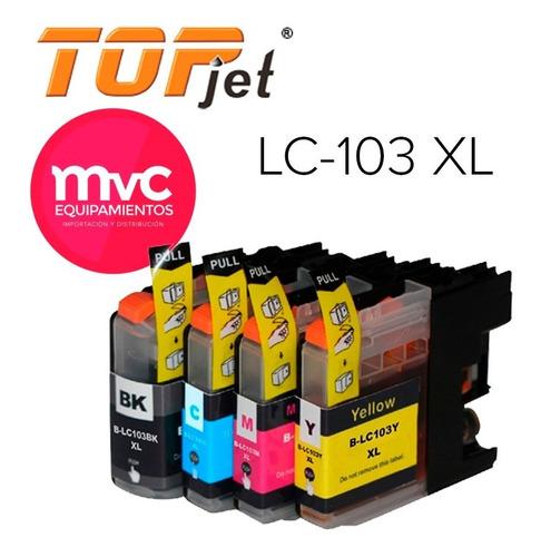 Cartucho Compatible Con Brother Lc-103 Xl Mvc