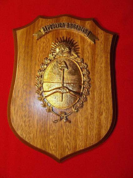 Panoplia / Escudo Nacional Argentino Armada Ejercito