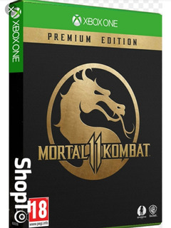 Mortal Kombat 11 Premium Xbox One Código Digital