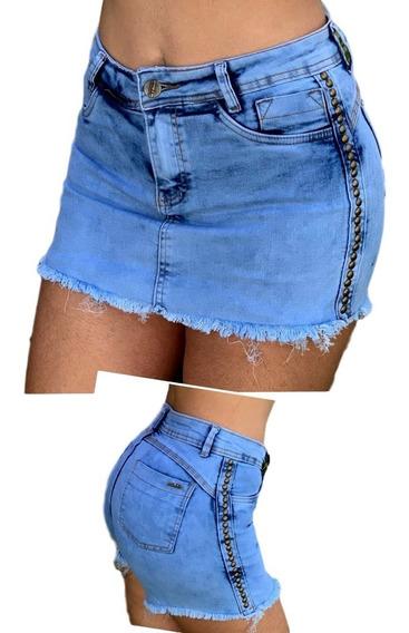 Shorts Saia Quatro Botões