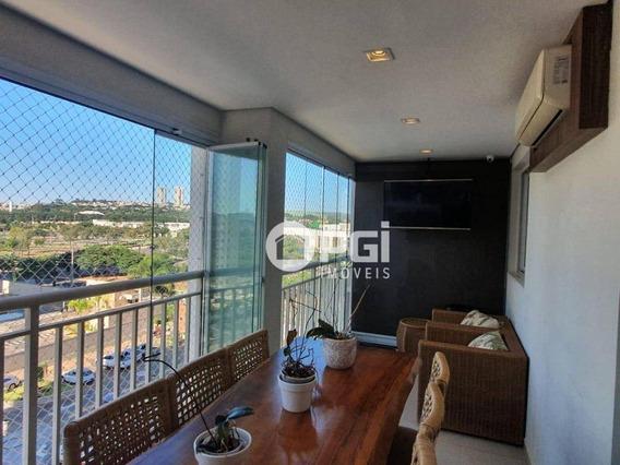 Apartamento Com 3 Dormitórios À Venda, 128 M² Por R$ 690.000 - Vila Do Golf - Ribeirão Preto/sp - Ap5747