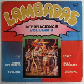 Lp Lambadas Internacionais Vol 9
