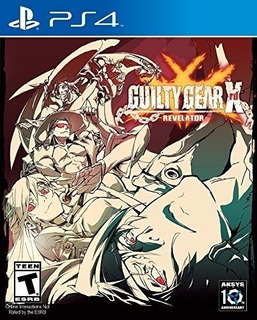 Guilty Gear Xrd (revelator) Ps4 Nuevo Y Sellado