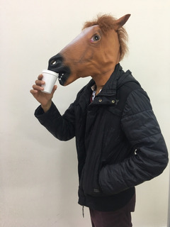 Mascara Latex Caballo Con Pelo Nuevas Tienda San Jose
