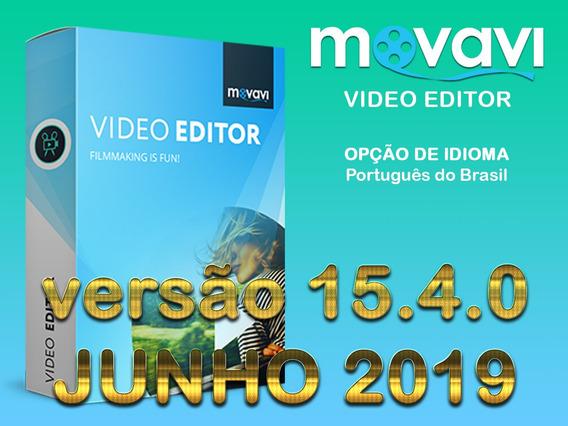 Ativação Patch Movavi Video Editor 15.4.0 - Junho 2019