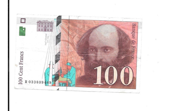 Liquido Billete De Francia 100 Francos 1997