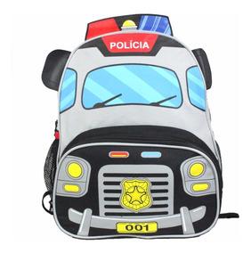 Mochila Polícia Infantil Profissão Menino Skip Hoop Cp8020