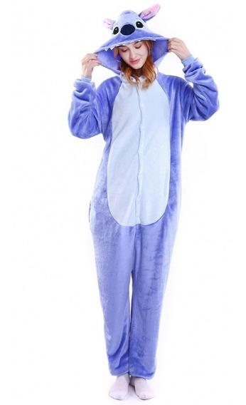 Pijama Kigurumi Mamenuco Stitch Azul Envío Gratis