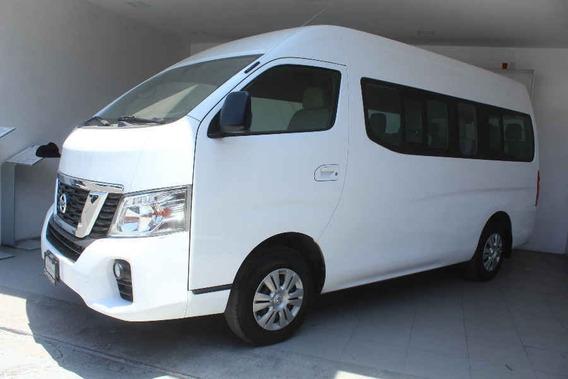 Nissan Urvan 2018 4p Amplia L4/2.5 15/pas P/seg