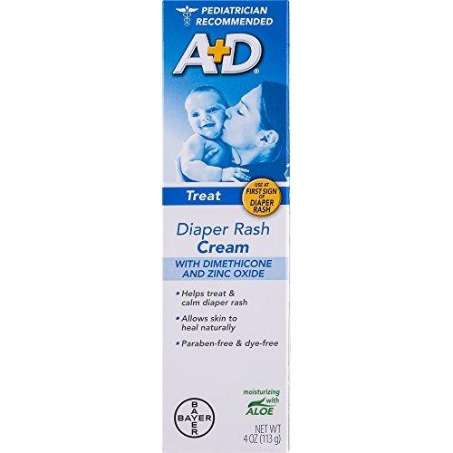 A + D Óxido De Zinc Crema De Tratamiento De La Dermatitis