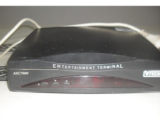 Antiguo Descodificador Asc 7000 Vtech Entertainment Terminal
