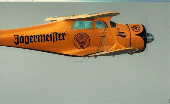 Simulador De Voo Completo E Com Aeronave Beechcraft Model 17