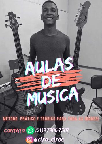 Imagem 1 de 1 de Aulas De Música Particular (presencial E On-line)
