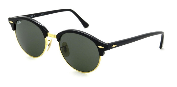 Ray Ban Rb4246 901 51 Clubround Redondo - Lente 51mm