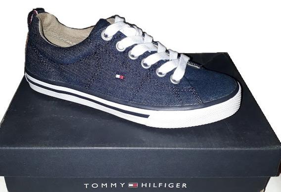 Tênis Jeans Tommy Hilfiger Original Infantil Nº 30