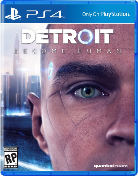 Detroit Become Human Ps4 Midia Fisica