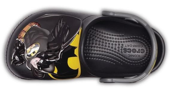 Crocs Originales Fl Batman Clog Universo Dc Nene Niño Asfl70
