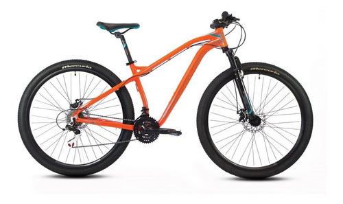 Imagen 1 de 2 de Mountain bike Mercurio MTB Recreación Ranger Pro  2020 R29 21v frenos de disco mecánico color naranja/negro brillante