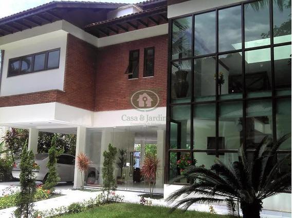 Maravilhosa Casa Com Sete Suítes Em Estilo Moderno No Guaruja - Ca0381