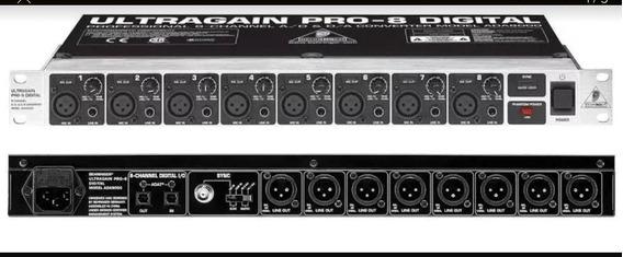 Adat Ultragain Pro 8 Behringer