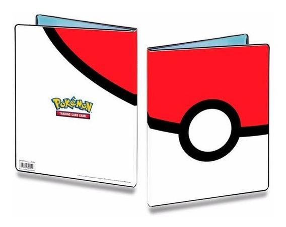Pasta Porta Cartas Oficial Pokemon - Álbum Porta 180 Cartas