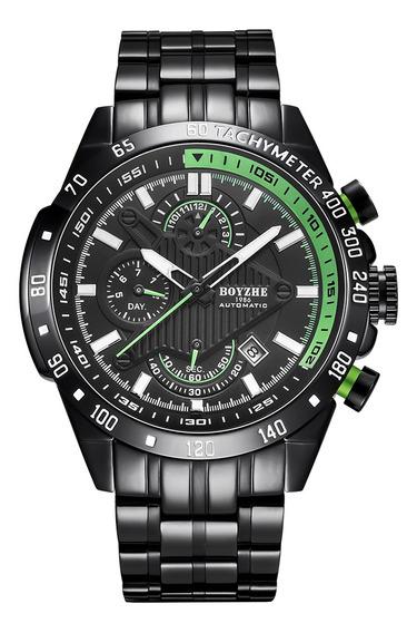 Reloj Boyzhe Wl010-g Luminoso E Impermeable