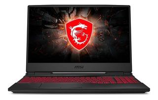Notebook Msi Gl65 15.6 I5 512gb Ssd 8gb Gx1650 Outet Netpc