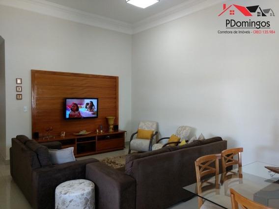 Casa Térrea ( Com Lindo Acabamento Interno ) À Venda No Residencial Real Park, Em Sumaré - Sp!!! - Ca00663 - 33371061