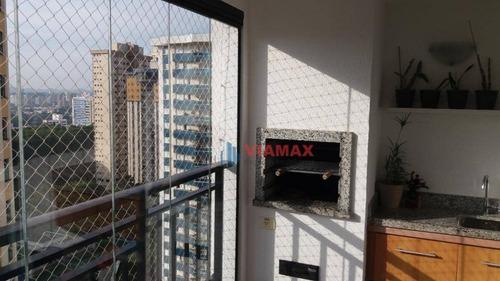 Imagem 1 de 30 de Apartamento Com 3 Dormitórios, 1 Suite À Venda, 110 M² Por R$ 797.000 - Jardim Aquarius - São José Dos Campos/sp - Ap2790