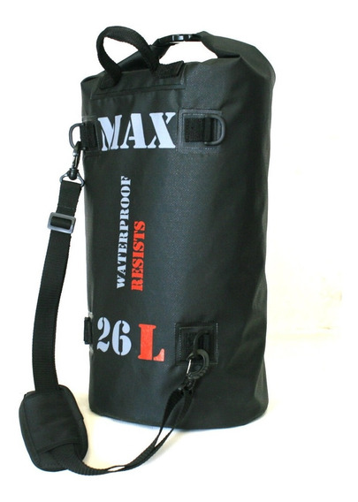 Bolsa Estanque Saco 100% Impermeável Soldada Bag Wp 26 L Max