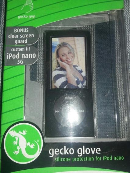 Capa Emborrachada + Pelicula iPod Nano 5g Frete - 10,00