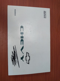 Manual De Propietario Chevy 03